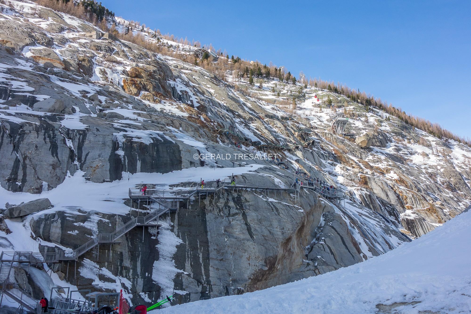 Les escaliers du Montenvers - Dsc05023