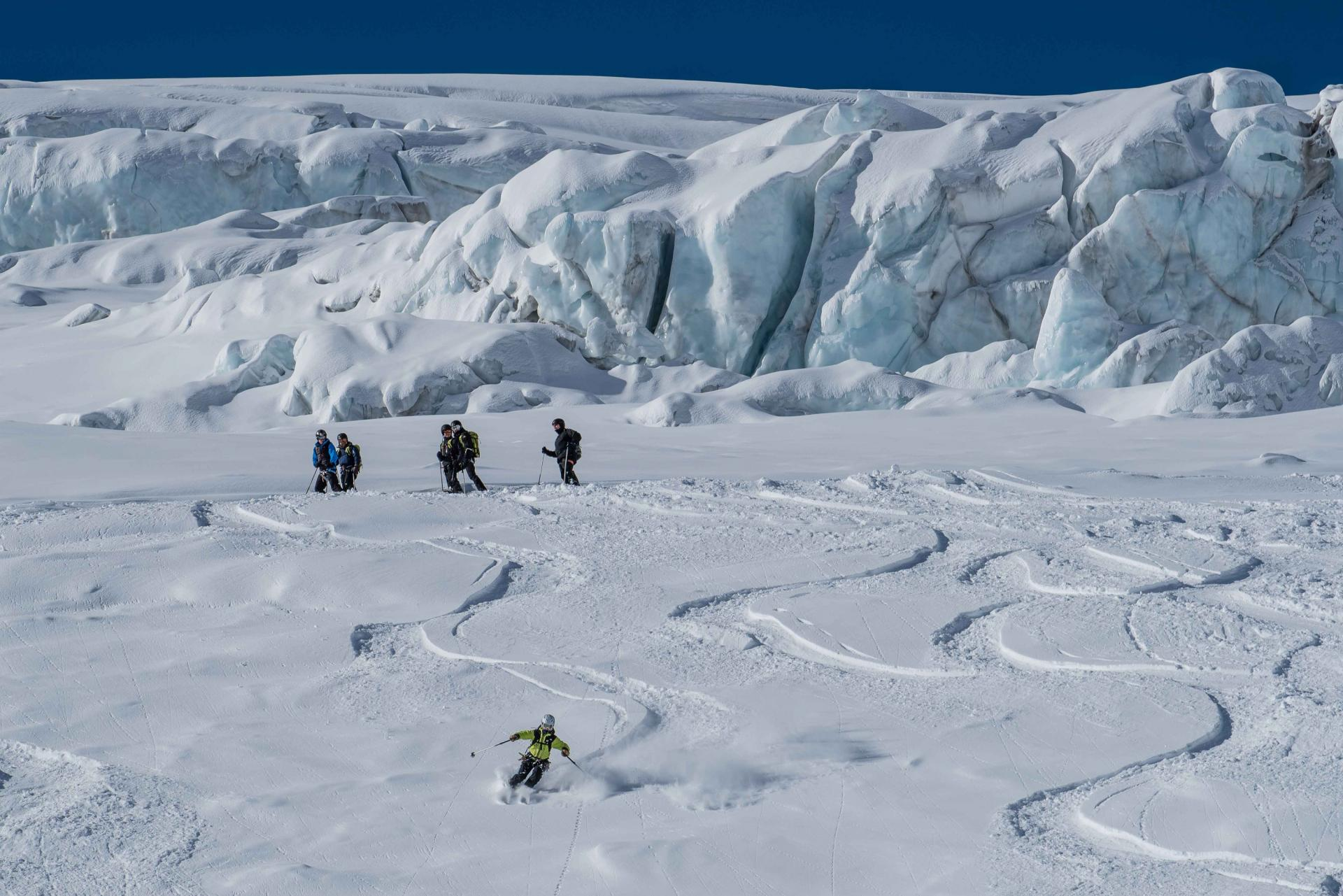 Ski sur Glacier